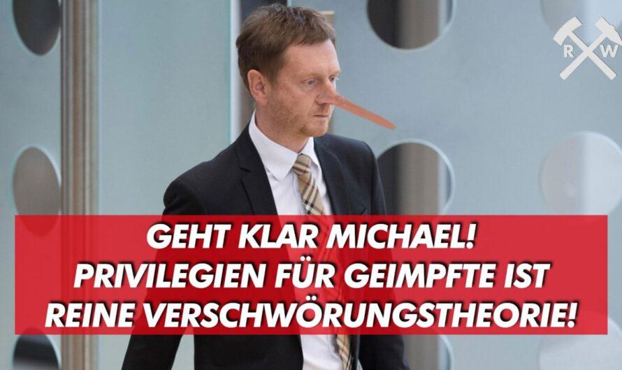 Geht klar Michael! Privilegien für Geimpfte ist reine Verschwörungstheorie!