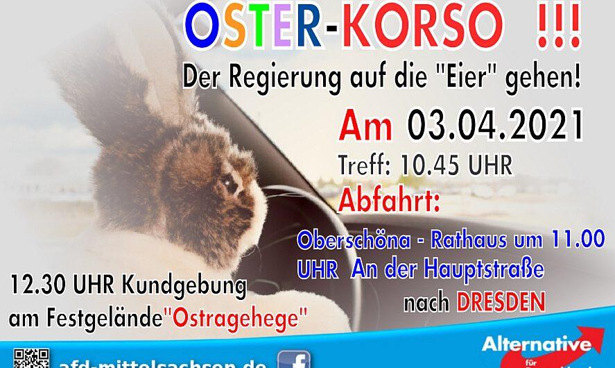 Oster-Korso in Sachsen