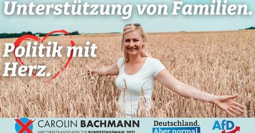 Carolin Bachmann: Politik mit Herz – Unterstützung für Familien!